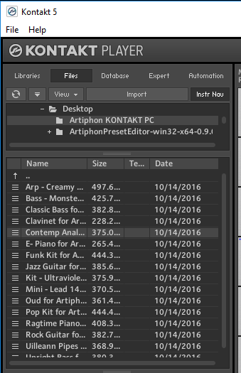 Your before library this to kontakt be new instrument be used added needs can Kontakt instrument